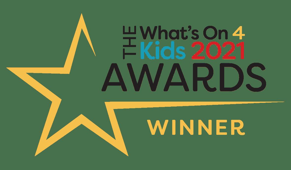 What s On 4 Kids Awards Winner Logo